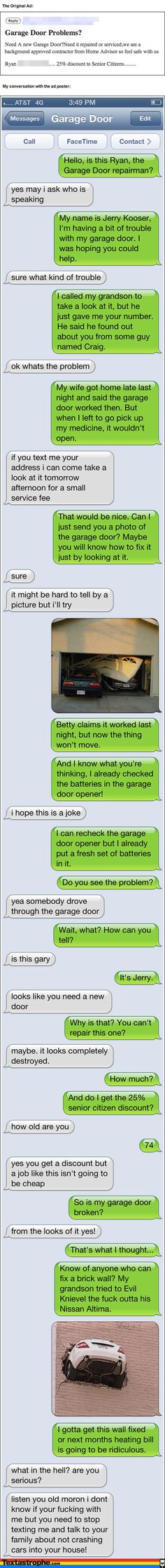 Hilarious texting prank at Textastrophe