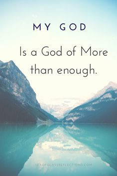 A God of More Than Enough | Sea of Glass: Reflections of God's Love | Peggy Medberry - Los Angeles