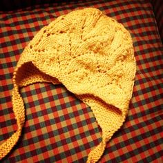 One more Clover Earflap Hat. Pattern by Dover and Madden bought on Etsy