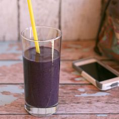 Black and Blue Berry Vanilla Protein Smoothie  This protein smoothie is the perfect breakfast for those who just don't have time to cook up a full meal every morning. The fresh fruit and protein makes sure you still have the energy you need to start the day.