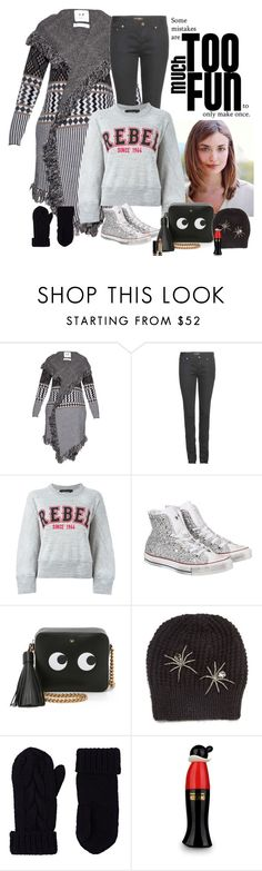 """""""Mistakes"""" by katiethomas-2 ❤ liked on Polyvore featuring Banjo & Matilda, Yves Saint Laurent, Dsquared2, Converse, Anya Hindmarch, Jennifer Behr, Barneys New York, Moschino Cheap & Chic, Gucci and women's clothing"""