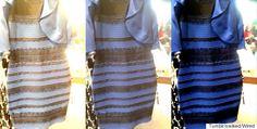 青と黒? 白と金? ネット上で大論争を呼んだドレスの色がついに決着(画像)