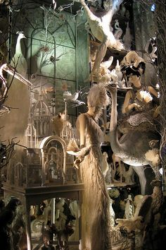 NYC: Bergdorf Goodman's 2008 Holiday window display - Calendar Girls - Spring | Flickr - Photo Sharing!