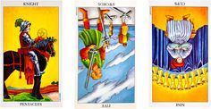 Tarot Circle: A Three-Card Spread on Love and Work