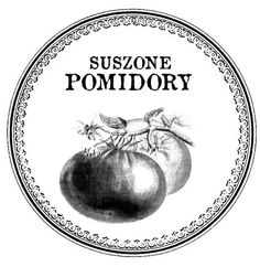 suszone pomidory Papel Vintage, Custom Stamps, French Art, Decoupage, Decorative Plates, Typography, Painting, Printables, Graphics