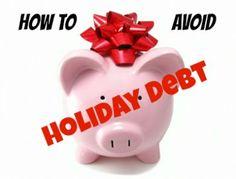 Avoiding holiday debt......