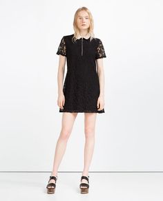 Image 1 of LACE DRESS from Zara