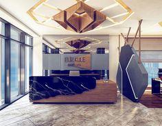 Eliz Kule projemizin satış ofisi giriş bankosu, doğal malzemelerle tasarlandı. / Reception desk of Eliz Kule project sales office is designed with natural materials. #elizkule #ovacık #ovakent #ankara #evrenyigitmimarlik #evrenyigitarchitects #ankaradamarkaprojeler #turkisharchitecture #turkisharchitects #ankara #keçiören #salesoffice #satışofisi #entrancelobby #banko #interiordesign #design #interiorarchitecture #interioarchitect #içmimar #içmimari #modern #evrenyigit #architects