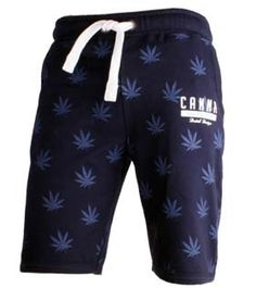 Typisch Hollands Jogging Sweat Shortie - Cannabis