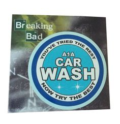 Breaking Bad A1A Car Wash Decal - Cars, Laptops, Tablets