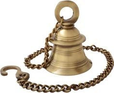 Handecor Hanging Bell With Chain Brass Decorative Bell Price in India - Buy Handecor Hanging Bell With Chain Brass Decorative Bell online at Flipkart.com