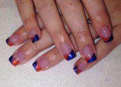 Denver Broncos Nails!