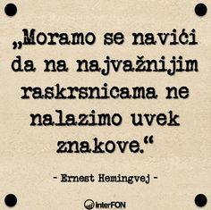 Ernest Hemingvej.