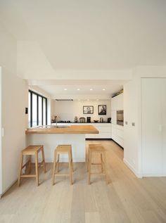 Les 25 meilleures id es de la cat gorie transformer un garage sur pinterest fen tres de porte - Transformer garage en cuisine ...