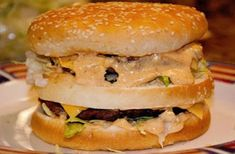 Homemade Big Mac (Clone) Recipe - The key is in the secret sauce! The Real Housewives of Riverton - Copycat Big Mac Hamburger Sauce, Hamburger Recipes, Molho Big Mac, Homemade Big Mac, Homemade Sandwich Bread, Big Mac Salad, Clone Recipe, Recipe Recipe, Recipe Ideas