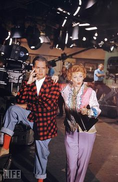 Desi Arnaz and Lucille Ball 1951