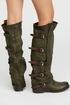 A.S. 98 Loden Tatum Over the Knee Boot at Free People Clothing Boutique