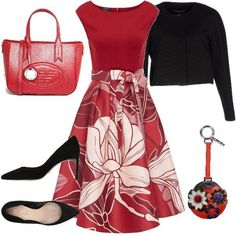 Outfit Total look Other Outfits, Dressy Outfits, Mode Outfits, Skirt Outfits, Look Fashion, Autumn Fashion, Womens Fashion, Complete Outfits, Work Attire