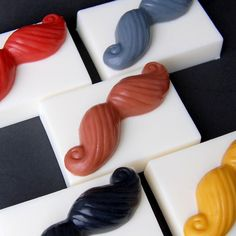 Soapstache [clearly this is awesome] LuxuryLaneSoap.com
