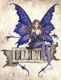 Believe Fairy Ceramic Decorative Fairies Wall Tile Amy Brown Fantasy Faery Art Fantasy Kunst, Fantasy Art, Fairy Dust, Fairy Tales, Dragons, Elfen Fantasy, Amy Brown Fairies, Fairy Pictures, Love Fairy