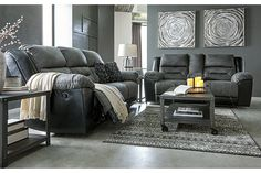 Earhart Manual Reclining Sofa | Ashley Furniture HomeStore Living Room Essentials, Living Room Sets, Types Of Sofas, Gray Sofa, Online Furniture Stores, Reclining Sofa, Signature Design, New Room, Small Living