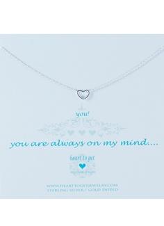 Heart to get Ketting met hangertje in de vorm van een hartje