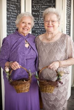Have grandmas as flower girls! | Offbeat Bride too bad we don't have grandmas because I would soo do this!!!