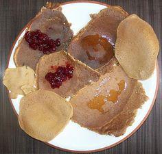 Crepes di farina di castagne VEGAN e GLUTEN FREE