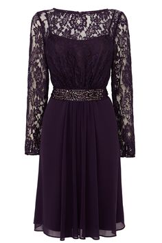 LORI LEE LACE SLEEVED SHORT