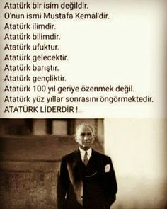 Mustafa Kemal Atatürk gerçek bir liderdir ! Great Leaders, World Leaders, Agatha Christie, Feelings, History, Memes, Sun, Photos, Peace