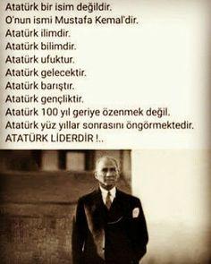 Mustafa Kemal Atatürk gerçek bir liderdir !