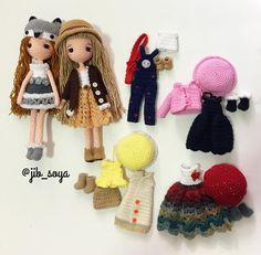 "Gefällt 301 Mal, 6 Kommentare - Jib Soya (@jib_soya) auf Instagram: ""#amigurumi #cute #crochet #handmade #girl #gift #jibsoya"""