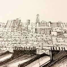 #Nunhead #drawing #closeup I need to go back to #telegraphhill at night to see the view.