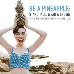 Jika buah nanas selalu ada mahkota. Lalu buah karya manusia apa ya mahkotanya. Semoga selalu ada kebaikan dan berkat atas setiap karya dan perbuatannya. http://ift.tt/2kIqF5O