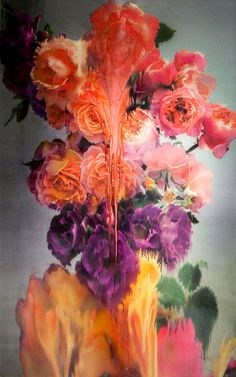 Rose 2, 2012. Edition of 9. 40 x 30 inches or 101.6 x 76.2 centimetres.- Artist Nick Knight