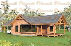 Rucantu, Casas de Alto Estándar || CONSTRUKIT® Casas Prefabricadas Rest House, House In The Woods, Timber House, Wooden House, Village House Design, House On Stilts, Bamboo House, Cabins And Cottages, Design Case