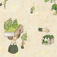 the 集日美工 2013 diary project by whooli chen, via Behance