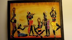 DIY African Tribal Mural Painting on Canvas Clay Wall Art, Mural Wall Art, Mural Painting, Clay Art, African Drawings, African Paintings, African Wall Art, Acrilic Paintings, Pottery Painting