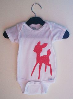 bambi looking applique