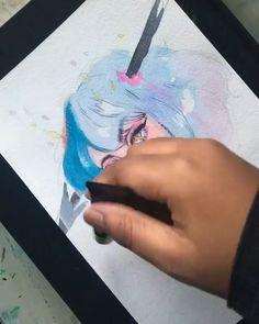 Oil Portrait Painting Ideas – Hobbies paining body for kids and adult Artist Paint, Oil Portrait, Ocean Painting, Painting Illustration, Paint Set, Oil Painting Abstract, Portrait Painting, Canvas Painting, Oil Painting Portrait
