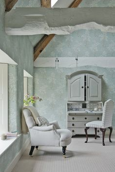decorology: Country interiors that are clean and fresh, not cluttered and frilly!