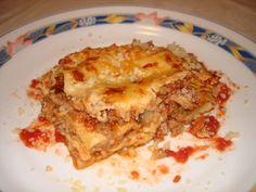 Λαζάνια στον φούρνο Lasagna, Ethnic Recipes, Greek Beauty, Food, Meal, Eten, Hoods, Meals, Lasagne