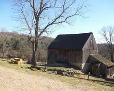 Old Amish Barn, Ridley Creek, Pennsylvania - Pixdaus