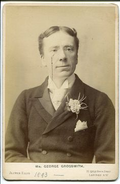 Cabinet photograph of George Grossmith, by Alfred Ellis, c.1893