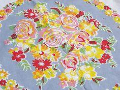 50s tablecloth