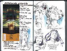 Museo Casa Lis. Salamanca. Exposición Gaudi y su Círculo http://cuadernosdepintor.blogspot.com.es/