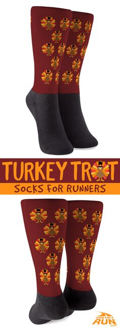 get in the thanksgiving mood with our fun turkey mid calf athletic socks great