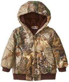 Carhartt Baby-Boys Realtree Camo Active Jacket