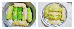 cooking cabbage rolls