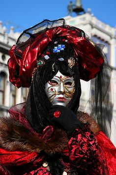 Venice Carnival Mask  ~ Ʀεƥɪאאεð вƴ ╭•⊰✿ © Ʀσxʌאʌ Ƭʌאʌ ✿⊱•╮